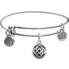 Bangle Bracelet and Celtic Circle - USA Made - BBandJT109
