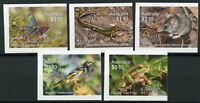 Australia Wildlife Recovery Stamps 2020 MNH Birds Frogs Butterflies 5v S/A Set