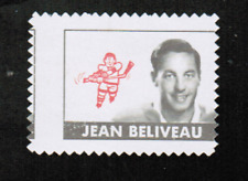 1969-70 O-Pee-Chee Stamp #1 Jean Beliveau Canadiens Unused!! (ref 6749)