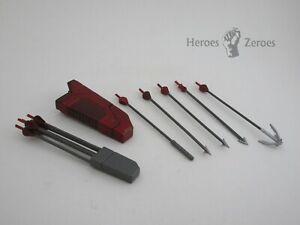 Mezco One:12 DC Comics ARSENAL PX Previews Exclusive --- Arrows & Sheath Parts