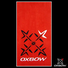 Genuine OXBOW RED Cotton Velour Beach Pool Surf Towel 100x180cm Perfect Present!