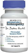 Fibromyalgia Relief Homeopathy/Temp fatigue relief/Muscle pain 100 Pills