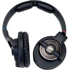 KRK KNS 8400 Professional Closed Back DJ Studio Monitoring Headphones Black