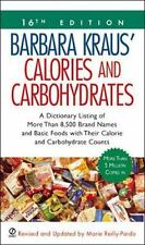 Barbara Kraus' Calories and Carbohydrates: (16th Edition), , Good Condition, Boo
