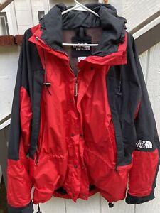 North Face Gortex Red jacket windbreaker XL Palace Supreme Anorak Braindead Sb