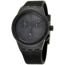 Swatch Originals Piege Black Dial Silicone Strap Unisex Watch SUSB104