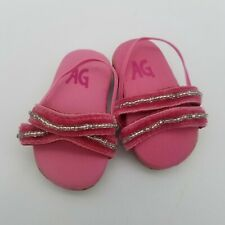 Retired American Girl Doll Licorice's Best Friend Outfit Pink Sandals Shoes