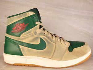 Milwaukee Bucks Authentic Rare Air Jordan 1 The Return 768861 206 Mens Size 11