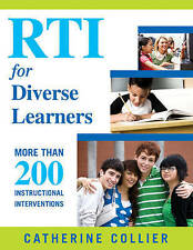 NEW RTI for Diverse Learners: More Than 200 Instructional Interventions