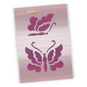 Butterflies Stencil - Small Butterfly Craft / DIY Stencil