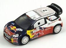 Citroen DS3 WRC N°2 Ogier Vainqueur Rallye Jordanie 2011 (500 Ex.) 1/43 Spark