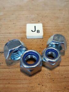 Wheel Nuts X4 For 49cc Mini Moto Pocket Dirt Bike  - M10 x 17mm/M12 x 19mm