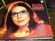 Nana Mouskouri-Love Goes On-LP-Philips-Canada-Vinyl Record-NM