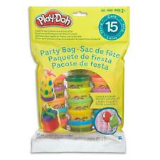Play-Doh Party Bag Includes 15 Tubs Cans Pots and 16 Stickers Assorted Colours