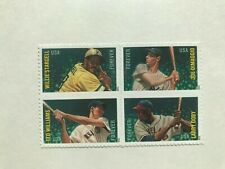 "Us postage Stamp, ""Major League All Star"" 2012 Blk of 4, Forever, Mnh"