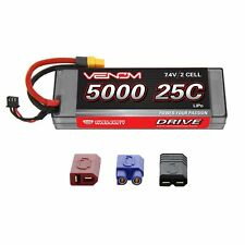 Venom LiPo Battery : Traxxas Stampede 4x4 VXL 25C 7.4V 5000mAh 2S with UNI Plug