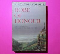 Robe of Honor by Alexander Cordell 1960 First 1st US Edition HC DJ Doubleday