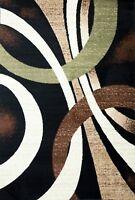 Modern Contemporary Area Rug Carpet Runner Mat All Sizes