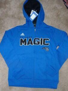 NEW NBA Orlando Magic Full Zip Hoodie Hooded Sweatshirt M 10 12 Youth Boys NWT