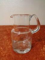 Glas Krug / Glaskrug - Handarbeit