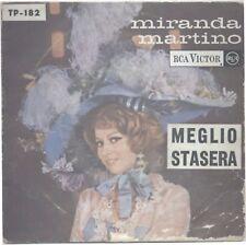 MIRANDA MARTINO MEGLIO STASERA RCA TP-182 PORTOGALLO