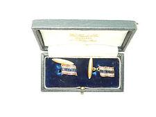 Cufflinks Diamond Set Thailand Flag 18 carat gold