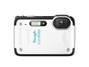 Olympus Digital Camera Stylus Tg-625 White 12 Million Tough Performance 5X