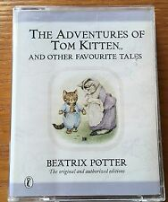 AUDIO BOOK Beatrix Potter THE ADVENURES OF TOM KITTEN - on 2 x cass PUFFIN