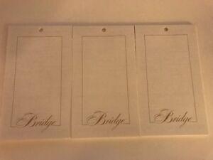 3 white bridge score pads
