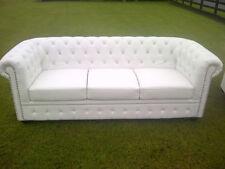 Faux Leather Vintage/Retro Sofas, Armchairs & Suites