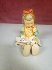 New ListingVintage Goebel Hummel Figurine Book Worm Girl Tmk 5 West Germany 3/I