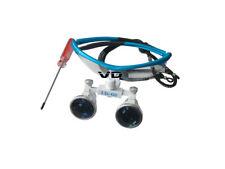 Vetro ottico 3.5x420mm per occhialini binoculari per chirurgia medica dentale No