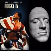"""Young Sylvester Stallone Life Mask Cast """"Rocky""""Rambo""""Judge Dredd"""" Very Rare!!!"""