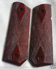 1911 FULL SIZE BOBTAIL CUT GRIPS COCOBOLO ED BROWN, Dan Wesson, Kimber M-xx
