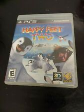 Happy Feet Two (Sony PlayStation 3, 2011) WB GAMES 3D COMPATIBLE FAST SHIP PS3