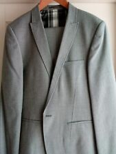 New other river island suit light summer grey 44L/36S