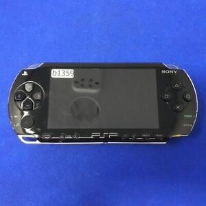 b1359 Sony PSP-1000 console Black Handheld system Japan w/Mem Card Express