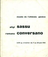 Aligi Sassu Romano Conversano - Catalogo di mostra 1961