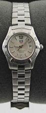 Ladies Tag Heuer Aquarracer Silver Swiss Quartz Date 27mm Watch WAF1412.BA0813