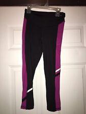 Champion Womens XS Training Legging Blk/violet/wht