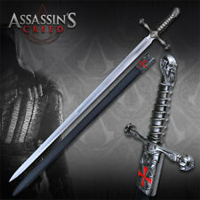 """ASSASSINS CREED 43"""" SWORD OF ODEJA WITH SHEATH TEMPLAR OFFICIALLY LICENSED NEW"""