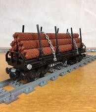 Lego Custom Logger Train Car MOC