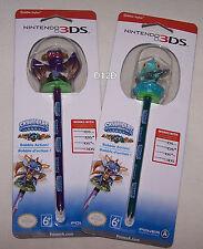 Skylanders Spyro's Adventure Nintendo DS Spyro & Gill Grunt Bobble Stylus New