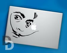 Dali Macbook decal / Vinyl Laptop sticker / Celebrity Decal Stencil