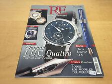 Magazine Magazine CLOCKS & FOUNTAIN PENS - Nº 2 June 2000 Chopard LUC Quattro