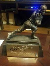 Tim Tebow HAND SIGNED Heisman Trophy Florida Gators