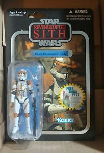 Star Wars The Vintage Collection  Clone Commander Cody VC19 Foil 2010 NEW