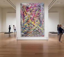 250cm x 150cm Original XXL Acryl Gemälde großes Bild Acrylbild Pollock Stil