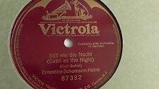 Ernestine Schumann Heink- 78rpm single 10-inch – Victrola #87332