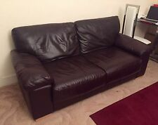 Luxury Real Leather Sofa *Bargain for over Half Price!*